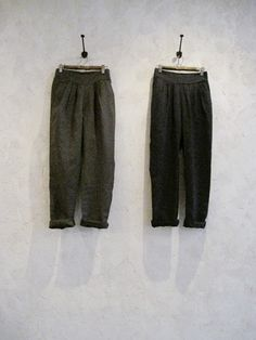 Toolz linen pin tucked pants