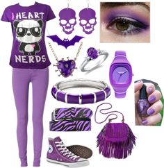"""""""Purpleness!!!"""" by jacquelinehall on Polyvore"""