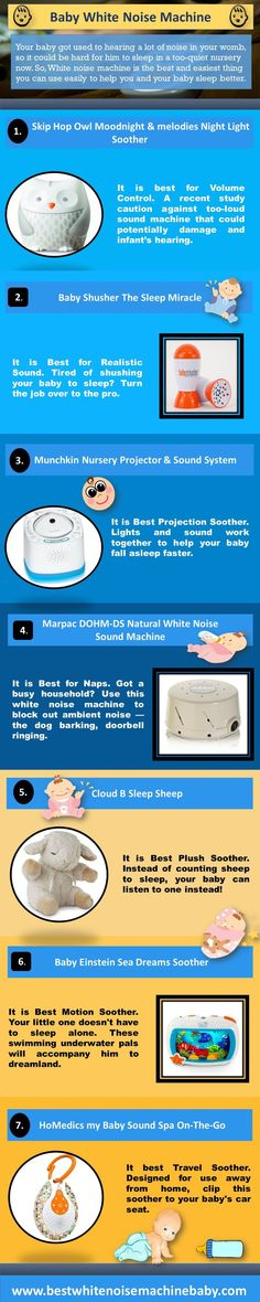202 Best White Noise For Babies images in 2019 | Babies