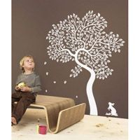 Love this whimsical wall decal