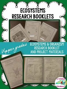 Just wrote about my Organism research booklets and how I used them to launch independent research projects...follow along for my next post that goes through the Project Based aspect of this unit! {biome, ecosystem, consumers, organisms}