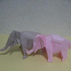 """""""神谷哲史作品集2 アジアゾウ  #origami#origamist #peperart #peperfolding #art#origamiart #satoshikamiya #折り紙#おりがみ #オリガミ#ゾウ#象#ぞう  #アジアゾウ#動物#どうぶつ #ピンクのゾウ#神谷哲史#神谷哲史 #PinkElephant #Elephant #Asianelephant#飲み過ぎ"""" Photo taken by @mikeneko_mikeko on Instagram, pinned via the InstaPin iOS App! http://www.instapinapp.com (04/05/2015)"""