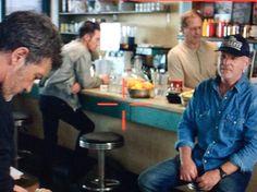Jonathan Rhys Meyers #jonathanrhysmeyers #jrm on set of Black Butterfly