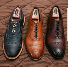 0f5b39c7291 ALLEN EDMONDS STRANDMOK IN NAVY   STRAND IN WALNUT   OXBLOOD.