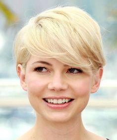 fotos de cabelo curto com franja para rosto redondo                                                                                                                                                                                 Mais