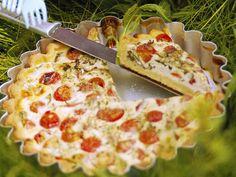 Quiche mit Ziegenkäse - smarter - Zeit: 25 Min. | http://eatsmarter.de/rezepte/quiche-mit-ziegenkaese