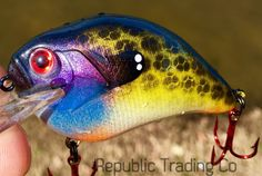 Republic Trading Co. Masterfully Crafted Crankbaits  #reptradeco