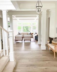 """Kayla Degnan on Instagram: """"Luxury vinyl plank floors * Let's talk about them. When we built our house I 1000000% knew I wanted a white oak floor that was light and…"""" Home Decor Styles, Cheap Home Decor, Diy Home Decor, Decor Crafts, Home Decor Kitchen, Home Decor Bedroom, Living Room Decor, White Oak Floors, Hippie Home Decor"""