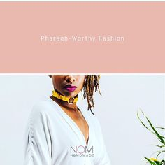 Chokers go as far back as ancient Egypt having adorned the necks of royal pharaohs. Worn for their protective powers these political and religious leaders donned jewellery on parts of their bodies they felt needed the most protection - like the neck wrists and head.  Dress: @nina_lifestyle_decor   #melaningoals  #locnation  #blackgirlboss  #johannesburg  #locstyles  #loclove #mynaturalhairisdope  #africanfabrics  #melanintuesdays  #africa  #accessories  #womenwithlocs  #naturalhairrocks… Black Girls Rock, Black Girl Magic, Fabric Jewelry, African Wear, African Fabric, Ancient Egypt, Bodies, Natural Hair Styles, Chokers