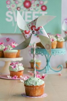Sweet Spring Cupcakes