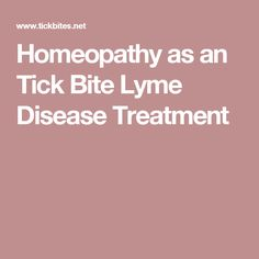 12 Best homeopathy and lyme disease images in 2017