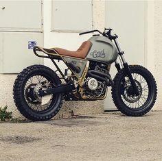 #crd62 by @CafeRacerDreams Cream Motorcycles - Honda NX650 Dominator.