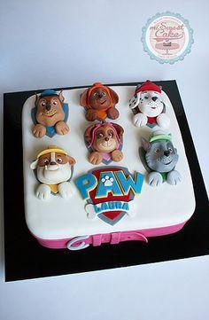misweetcake ♥ Cake Design: Paw Patrol Cake / Bolo Patrulha Pata https://www.facebook.com/misweetcakedesign/ https://www.instagram.com/misweetcake/
