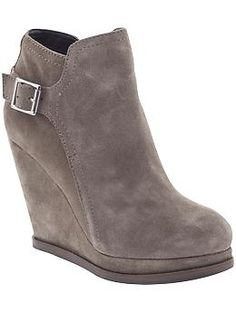 Taupe wedge booties - DV by Dolce Vita Penn   Piperlime