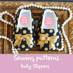 Baby shoes  Sewing Patterns Baby slippers by KidsSewingPatterns on Etsy