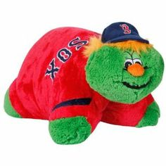 "MLB Boston Red Sox Pillow Pet by Fabrique Innovations. Save 20 Off!. $23.99. Plush pillow with foam filling. Quality embroidery. Hook & loop fastener to stand upright. Licensed product!. Felt applique detailing. Pillow Pet doubles as a cozy pillow, combining the functionality of a pillow with the serenity of a stuffed animal. Just un-velcro its belly and the pet becomes an 18"" pillow. Pillow Pets are so cute and cuddly, you won't want to put them down. They are ideal for naptime, road…"