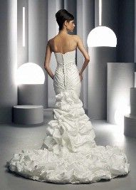 Wedding Dress - Back1