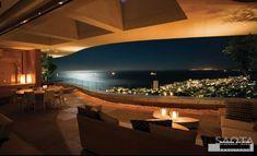 6 Luxury Lounge overlooking sea