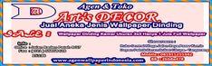 Menjual berbagai jenis wallpaper dinding murah dengan kualitas terbaik serta pemasangan yang sangat rapi dan bergaransi. Info 081911255342