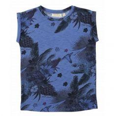 Soft Gallery Bel T-Shirt Magic Garden Blue