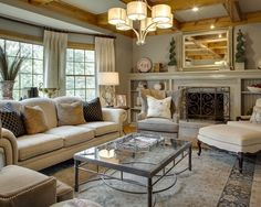 "Traditional Living Room Design, Pictures, Remodel, Decor and Ideas - page 4,The paint color is ""Briarwood"" by Benjamin Moore. The fireplace is the same color, there is a clear glaze on the mantle to give it a sheen and protect the wood."