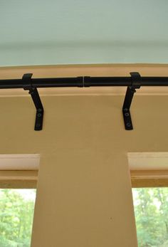 Curtain rod for a long wall, ikea hardware