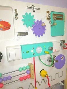 Busy Board Activity Board Sensory Board Montessori Toy