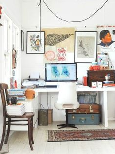 Love this eclectic look.