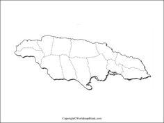 Printable Maps, Printables, Greater Antilles, Map Outline, Country Maps, Caribbean Sea, Tourism, Turismo