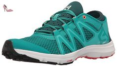 Salomon  Crossamphibian Swift W, Sneakers trail-running femme - bleu - Bleu / Corail (Deep Peacock Blue/Ceramic/Living Coral), 40 2/3 EU - Chaussures salomon (*Partner-Link)