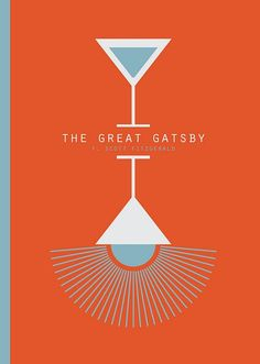 F. Scott Fitzgerald, The Great Gatsby. Design: James Martin.