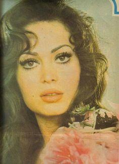 Türkan Şoray, a Turkish film actress.