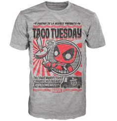 Marvel Deadpool Chimichanga Pop! Tees! T-Shirt
