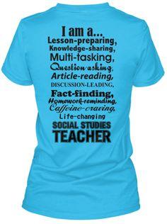 Then A Few Become Social Studies Teacher T Shirt | Social T Shirts ...