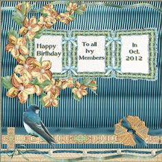 Happy birthday Ivy members TWO_Aug12_ScrapliftPostingBonus_Elements