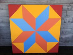 How to make a barn quilt tutorial