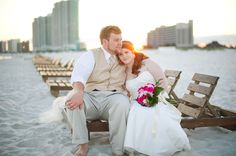 Beach Wedding/ Wedding Portraits/ Orange Beach/ Gulf Shores, AL    http://www.alishacrossleyphotography.com/