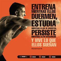 ¡ENTRENA, ESTUDIA, PERSISTE Y VIVE! #futbolmotivacion