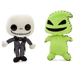 Gotta love Tim Burton and his amazing art style - especially in plush form!
