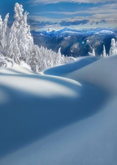 winter in British Columbia, Canada