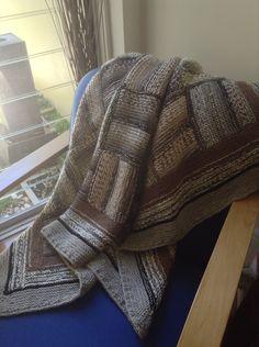 afghan, rug, throw, blanket. Spotlight magic stripe 8 ply plus 5ply
