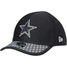 timeless design 5e8bd 93634 Dallas Cowboys New Era Toddler 2017 Sideline 39THIRTY Flex Hat - Black