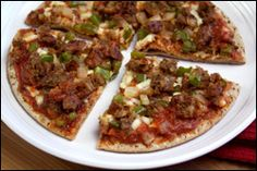 290-calorie Sausage Pizza?! Who loves you? HUNGRY GIRL DOES!!!!