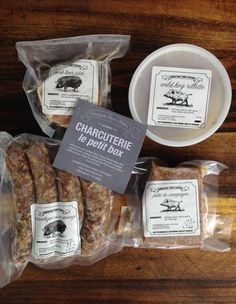 Food Labels by Countryside Farm's Charcuterie