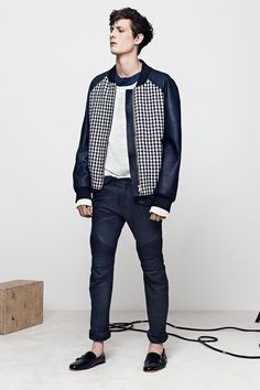 Balmain Spring 2014 Menswear Collection Slideshow on Style.com