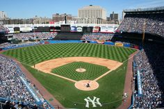 The old #Yankee Stadium in the Bronx, New York City.
