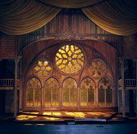 "Santo Loquasto's set for ""Faust"" (Act IV, Sc 1)"