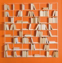 KRIPTONITE libreria da parete KROSSING 200 x 200 cm - MyAreaDesign.it