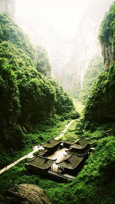 Wulong - Chongqing, China  (by duduvip on Flickr)