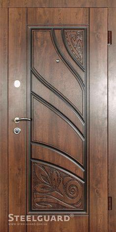 Ārdurvis mājai un dzīvoklim AKOLAT - Būvmateriālu interneta veikals House Main Door Design, Wooden Front Door Design, Door And Window Design, Home Door Design, Double Door Design, Pooja Room Door Design, Bedroom Door Design, Door Design Interior, Wooden Front Doors